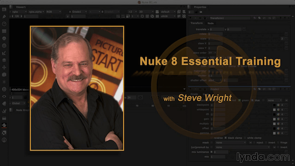 Nuke 8 Essential Training