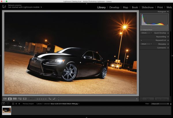 Adobe Photoshop Lightroom 6.7 CC for Mac