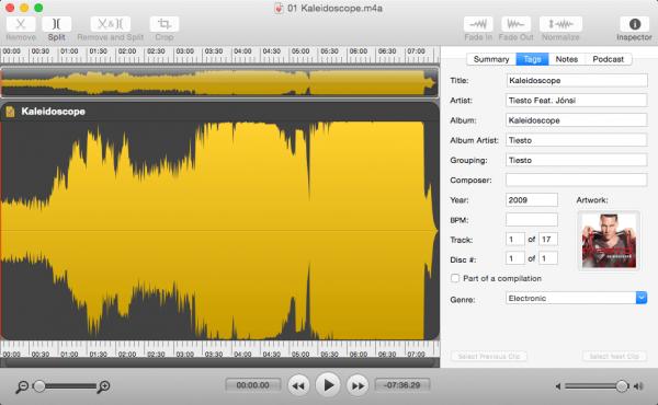 Fission 2.3.1 - Universal аudio еditor