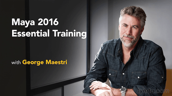 Maya 2016 Essential Training