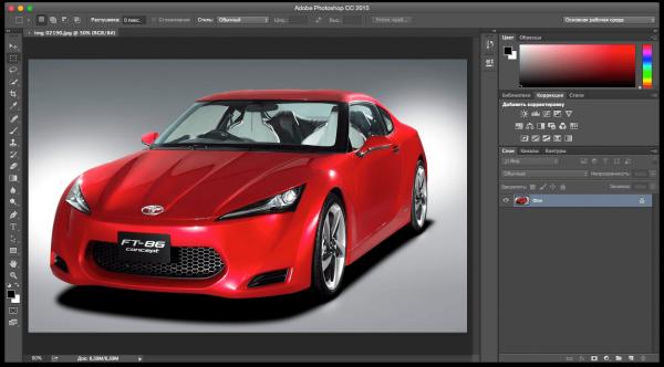 Adobe Photoshop CC 2015.5.1 (17.0.1) for Mac