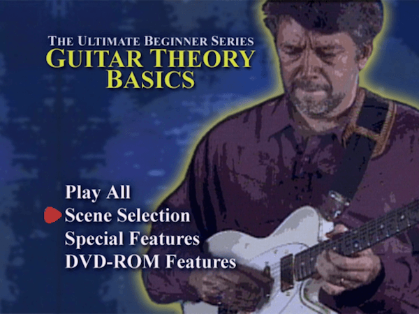 Ultimate Beginner Series - Guitar Theory DVD