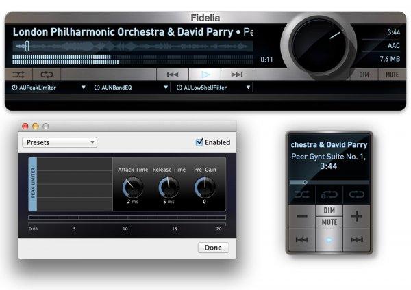Fidelia 1.6.0 - player for high quality sound