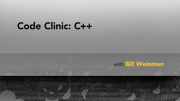 Lynda.com - Code Clinic: C++