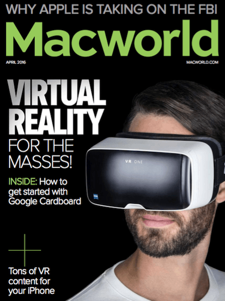 Macworld USA  (April 2016)