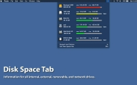 Disk Space Tab 1.5.1