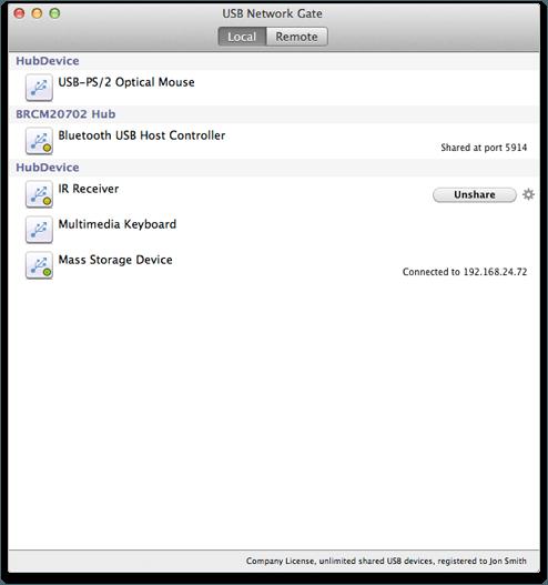 USB Network Gate 4.1