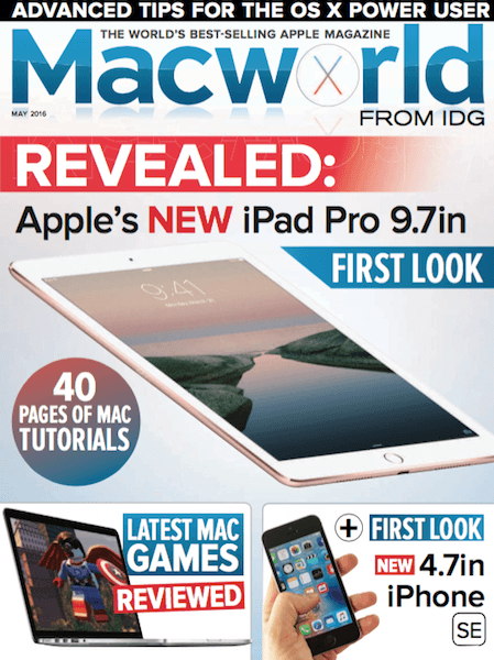 Macworld UK – May 2016