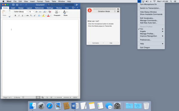 Nuance Dragon for Mac 5.0.5