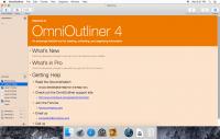 OmniOutliner Pro 4.6.1