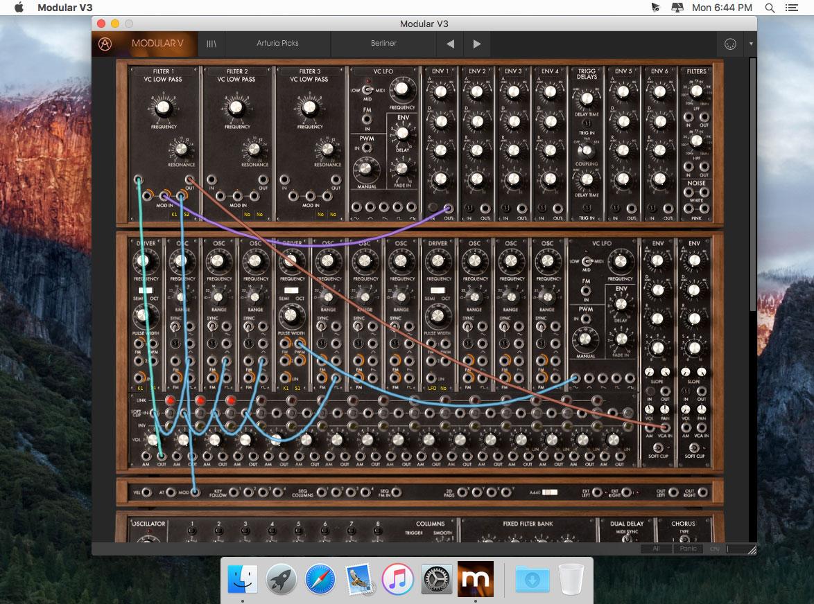 Arturia Modular V 3 0 1 download | Mac OS