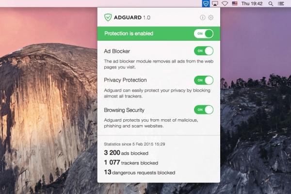 Adguard for Mac 1.3.0