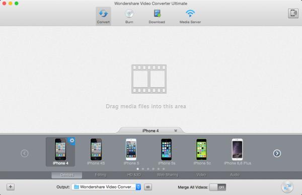 Wondershare Video Converter Ultimate for Mac 5.7.0