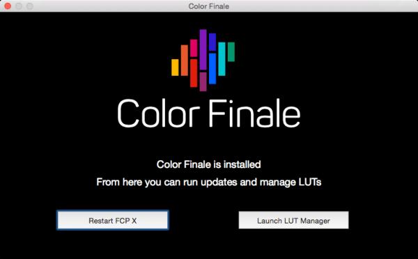 Color Finale 1.6