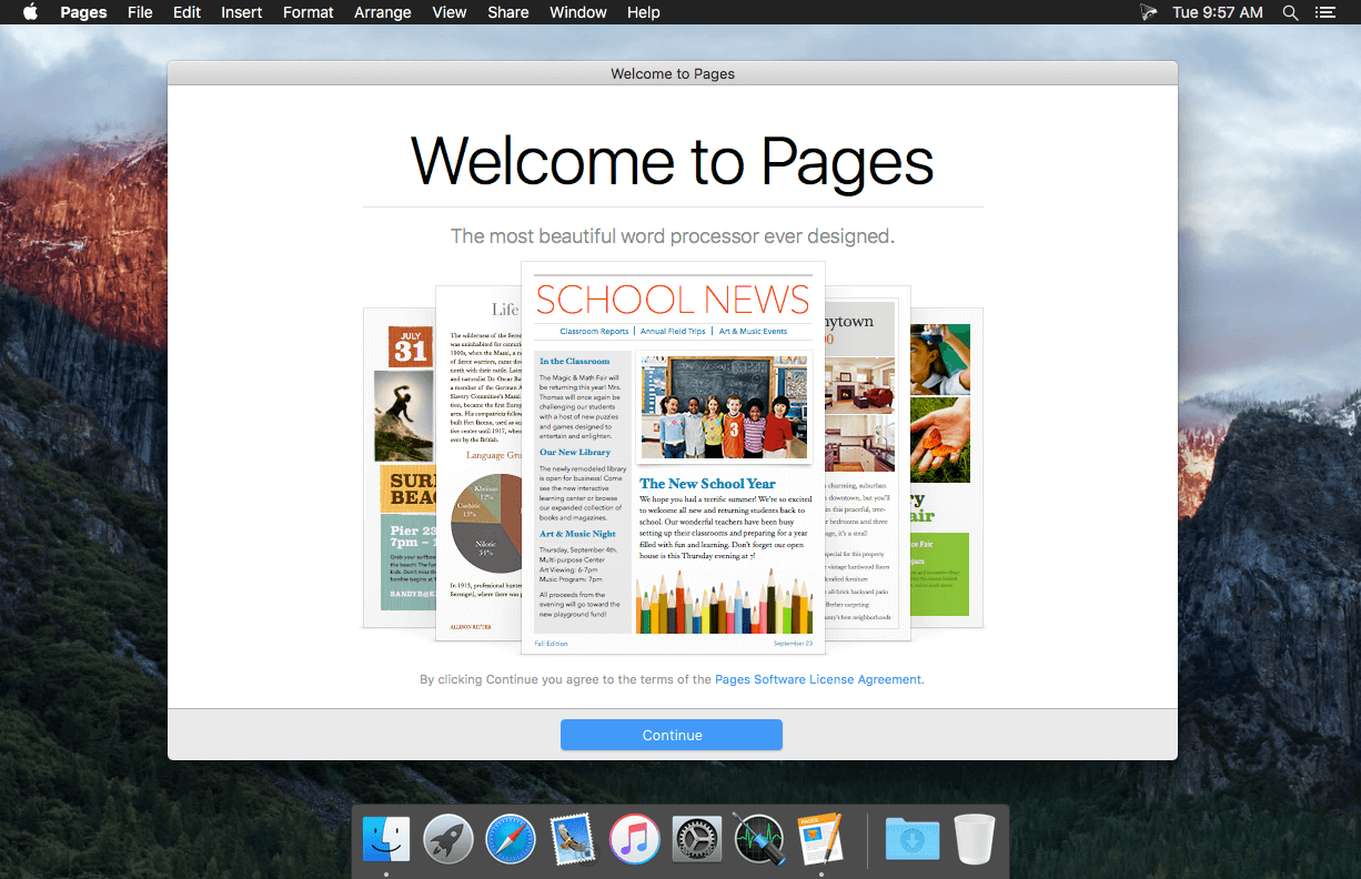 Apple Pages 5 6 2 download | macOS