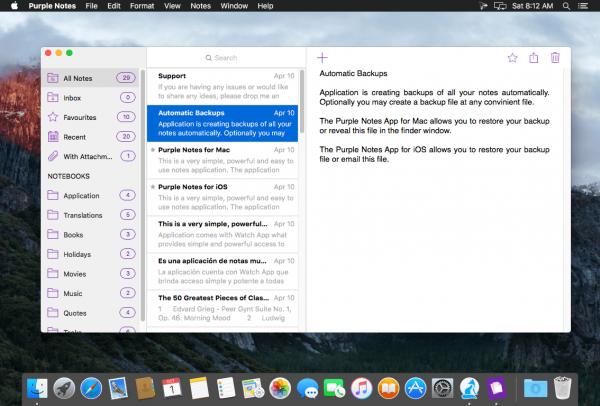 Purple Notes 4.2