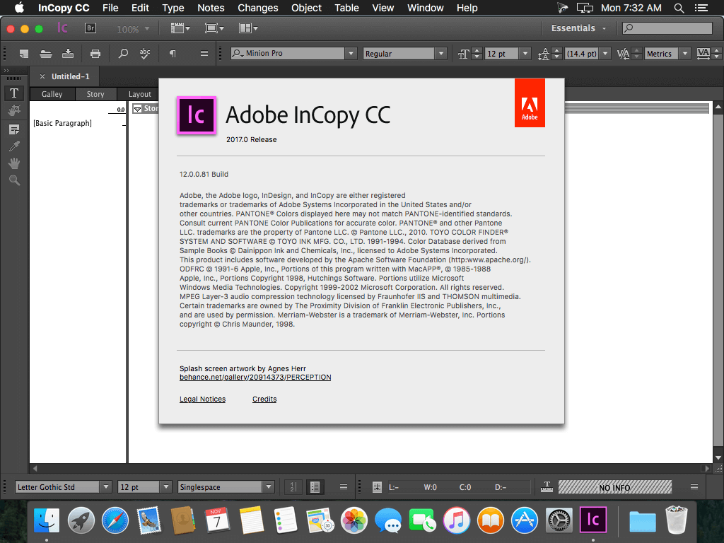 Adobe Incopy Cc 2017 V12 0 скачать Macos