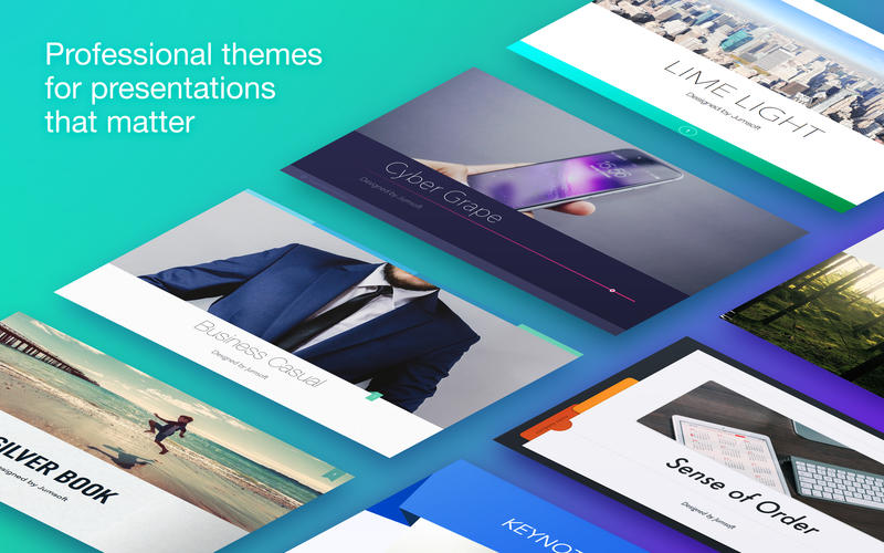 Jumsoft Themes for Keynote 5 1 2 download   macOS