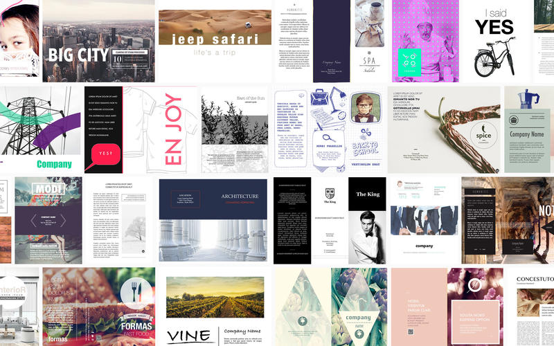 brochures templates for pages 2 3 download