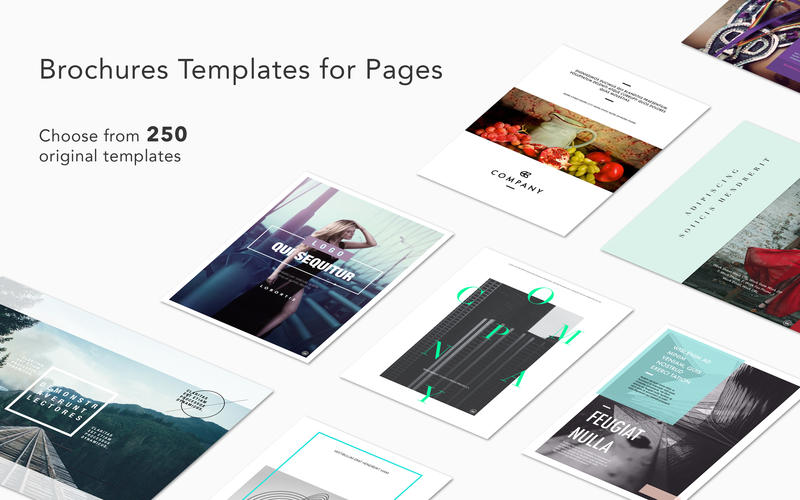 Brochures Templates for Pages 2.3 download | macOS