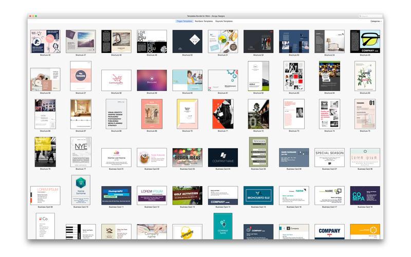 Templates Bundle for iWork - Alungu Designs 4 0 download   macOS