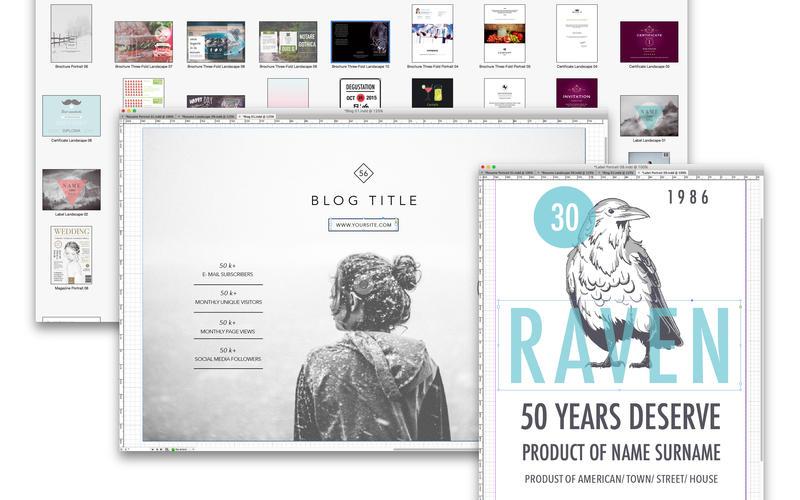 Templates for InDesign - Alungu Designs 2 0 download | macOS