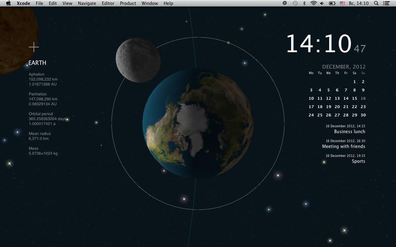 Calendar Live Wallpaper : Planets live wallpaper download macos
