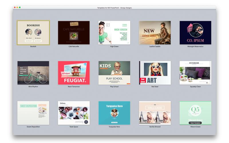 slide design expert templates for ms powerpoint v3 0 macos