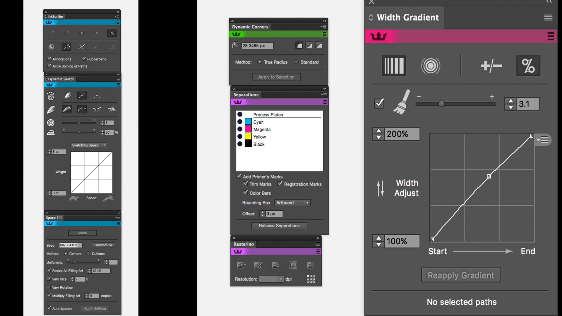 Astute Graphics Plugins Bundle v1 2 2 + Pro Texture Packs download