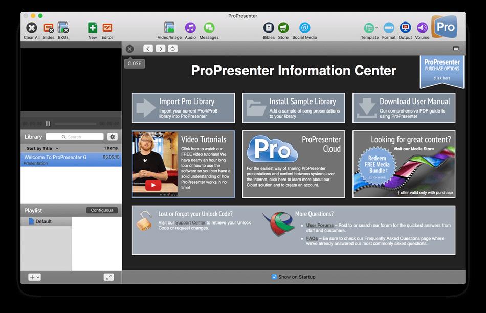 propresenter 6 license key mac
