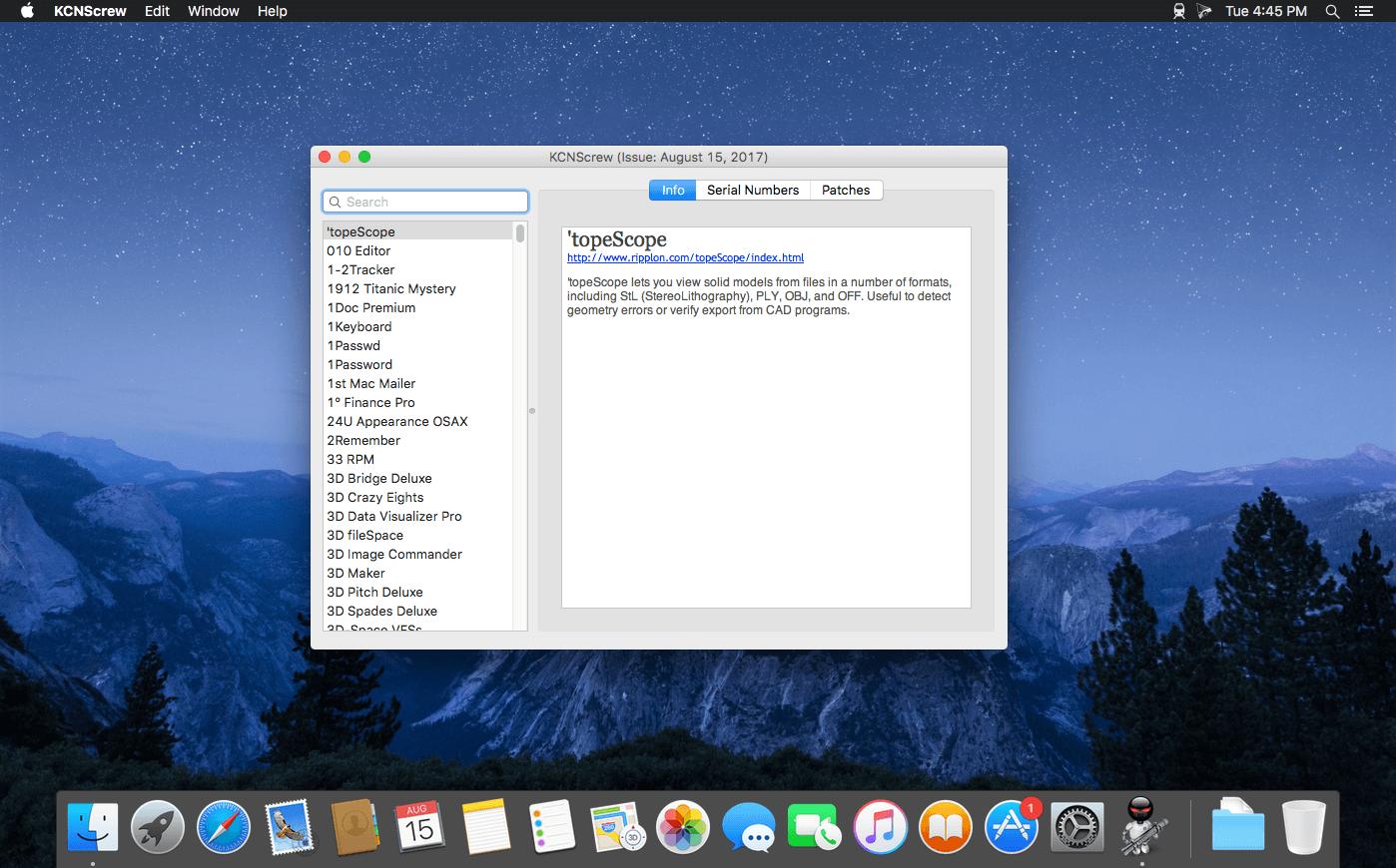 Serial Box For Mac Download