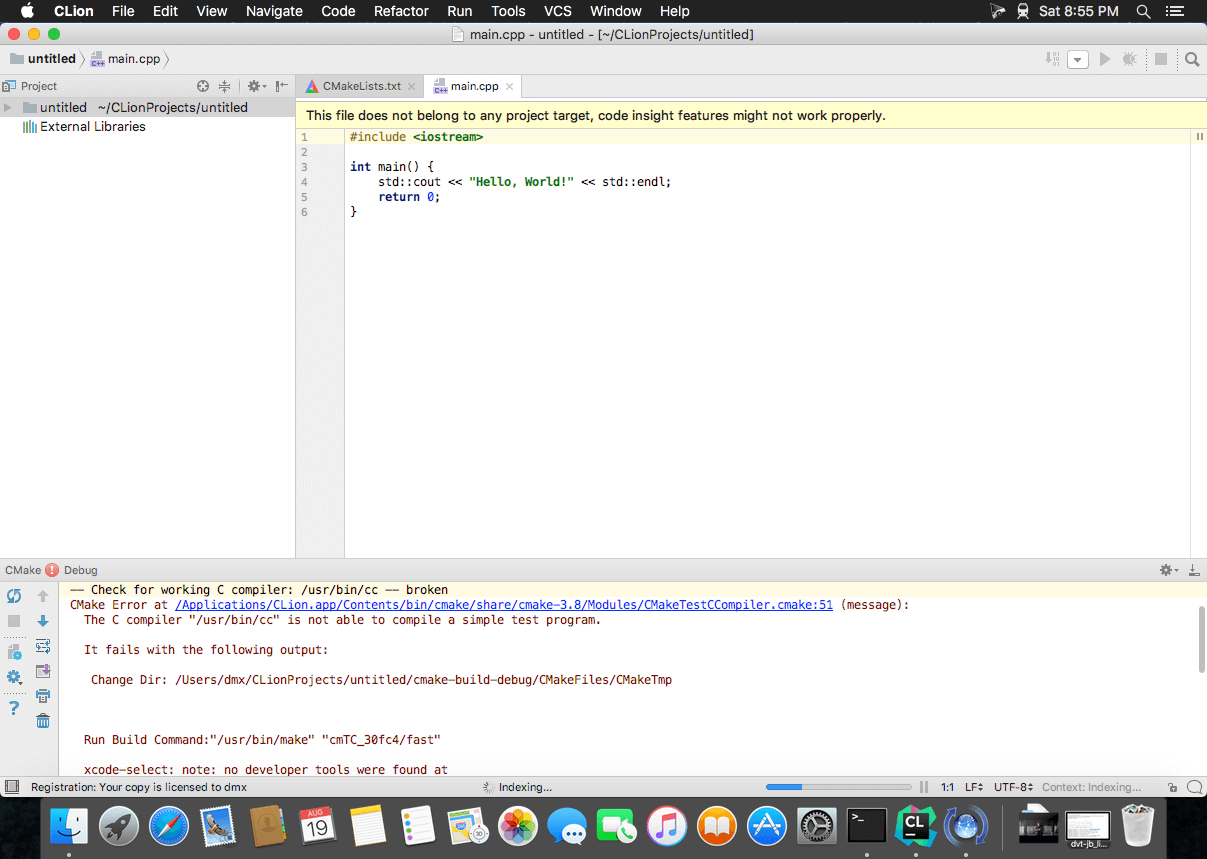 CLion v2017 3 1 download | macOS