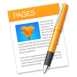Apple Pages 6.3