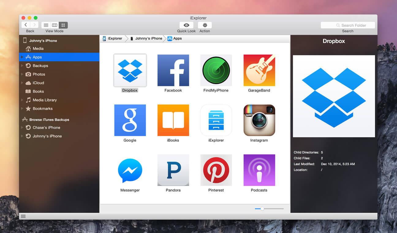 iExplorer 4 3 1 download | macOS