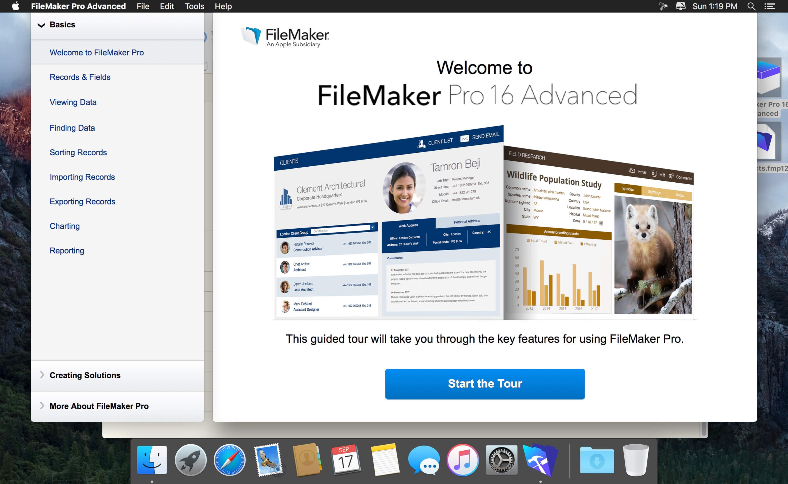 filemaker pro advanced 16 mac