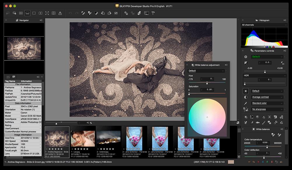 Resultado de imagen de Silkypix Developer Studio Pro 8