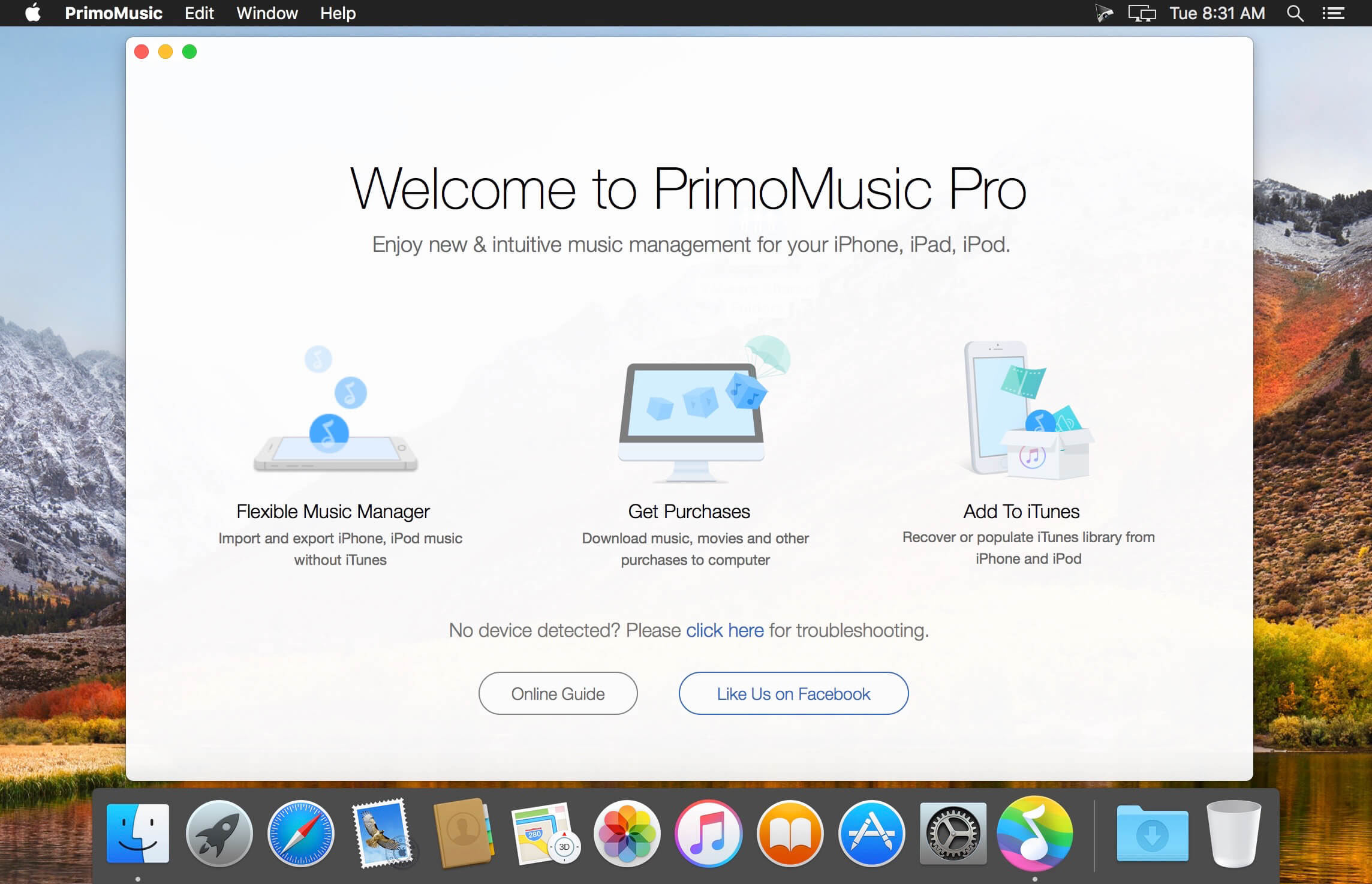 PrimoMusic Pro 1 6 1 download   macOS