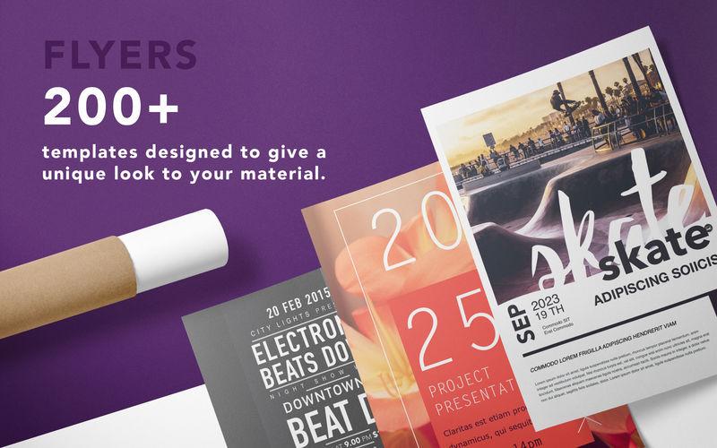 creative flyers templates