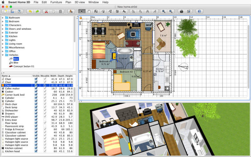 Sweet Home 3D 6.1.3 Download