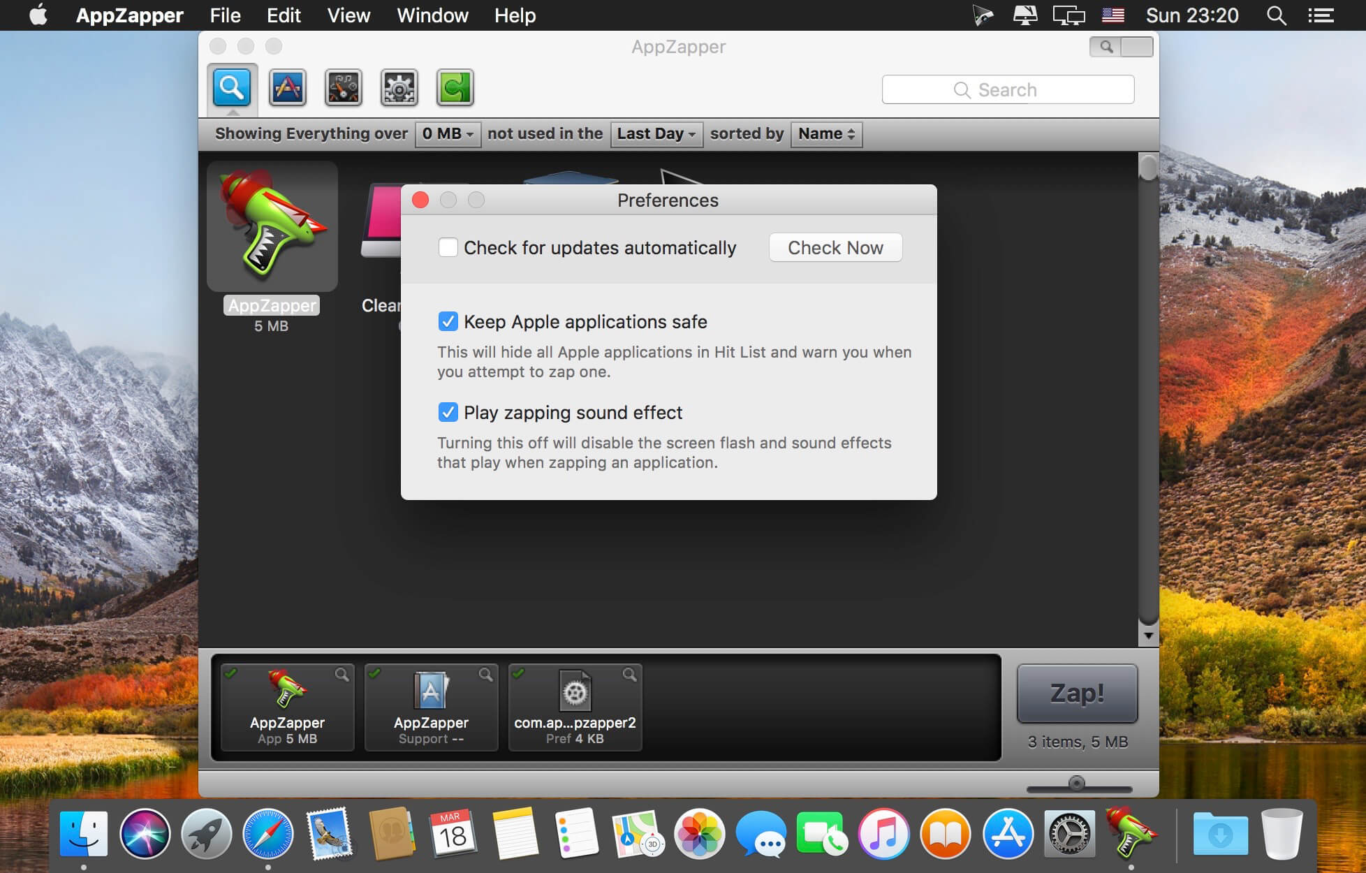 appzapper mac os x