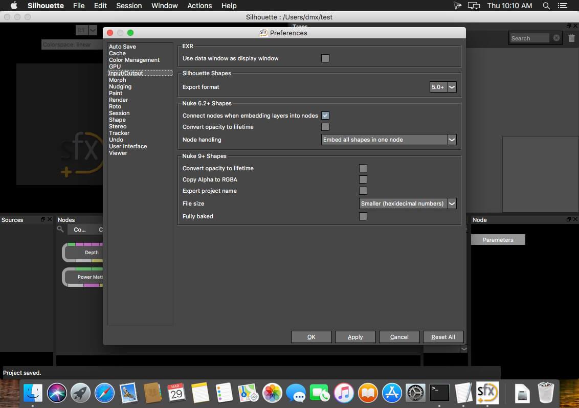 Davinci resolve studio 15.3.0.8 for macos versions