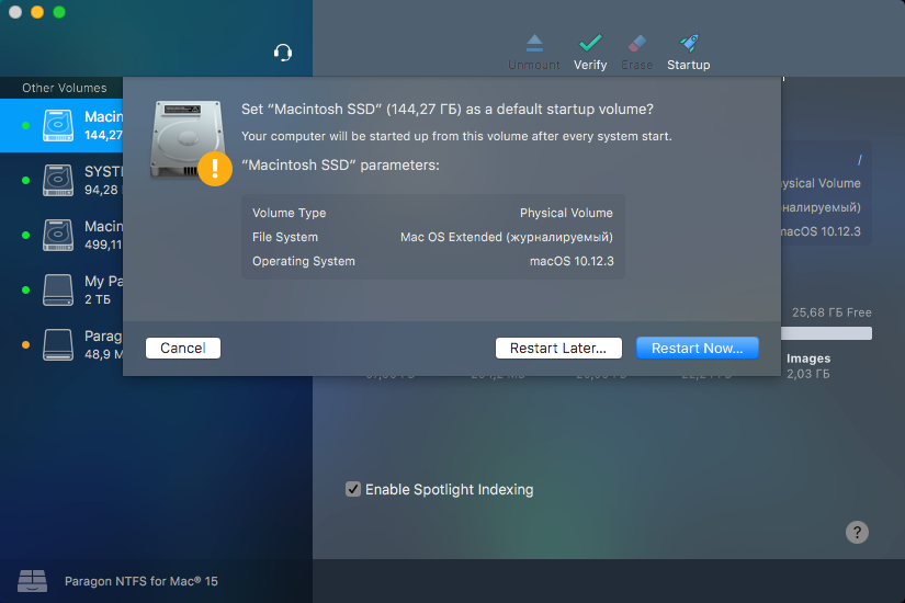 Paragon NTFS for Mac 15 5 53 download | macOS