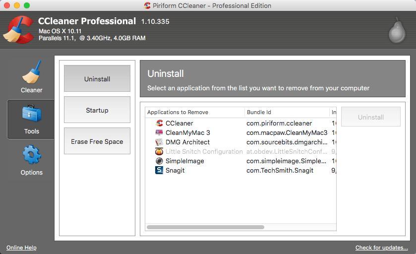 ccleaner technician edition vs professional