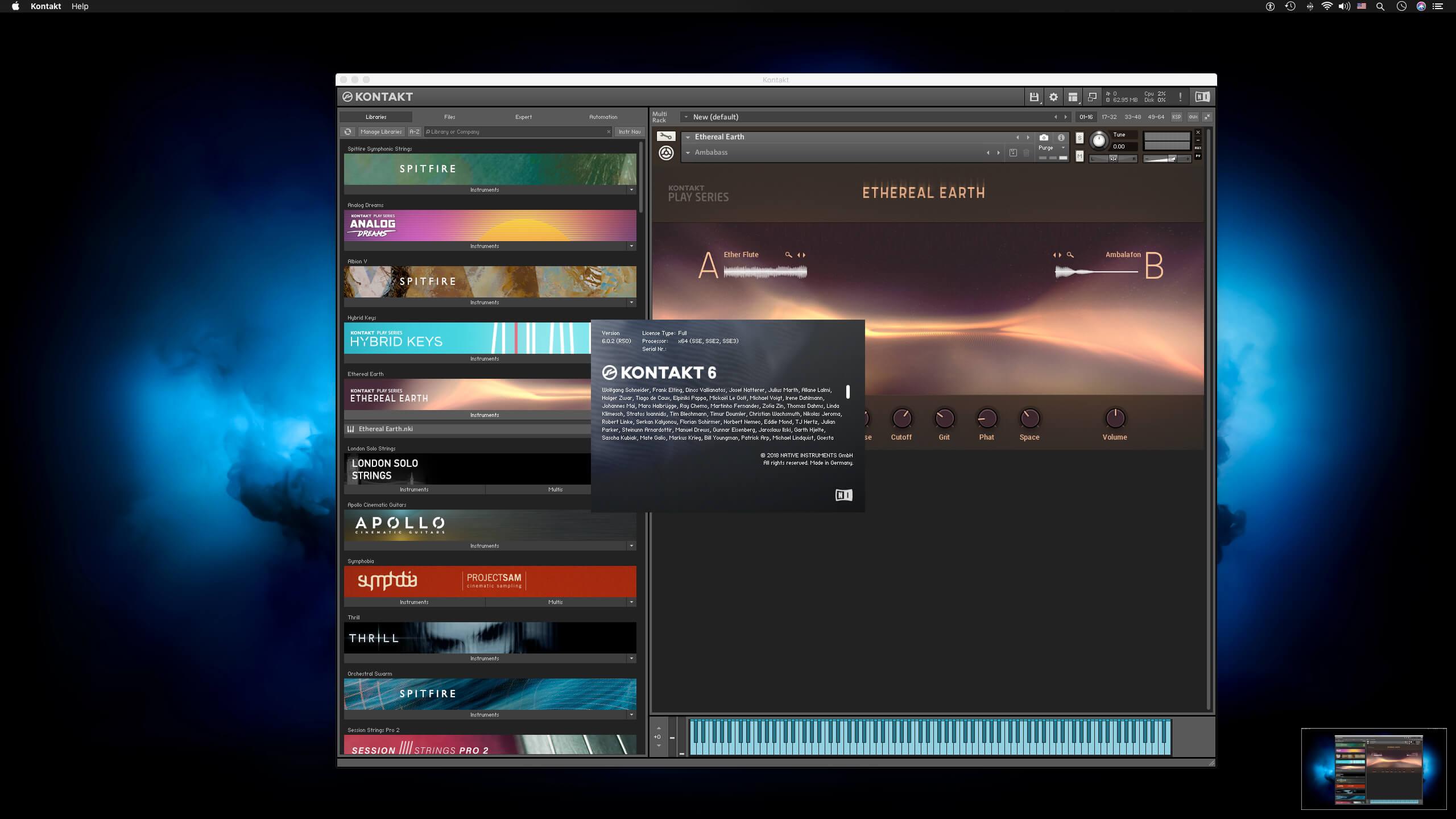 Native Instruments - Kontakt 6 1 1 download | macOS