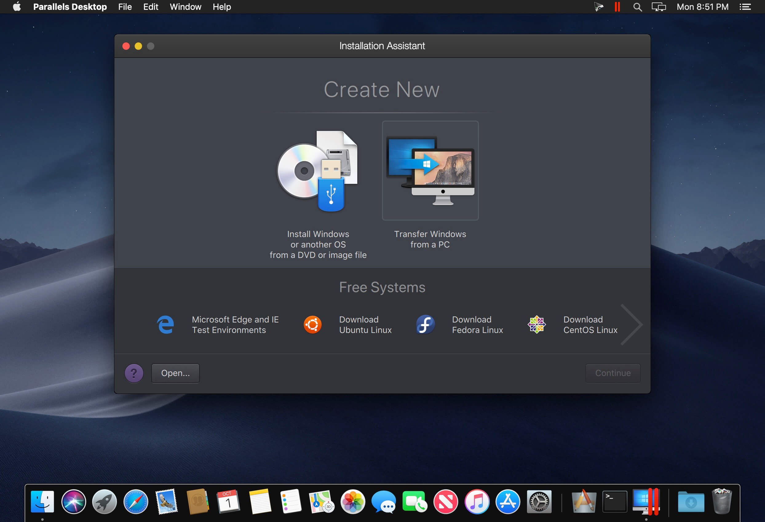 Parallels Desktop 14 1 2 (45485) download | macOS
