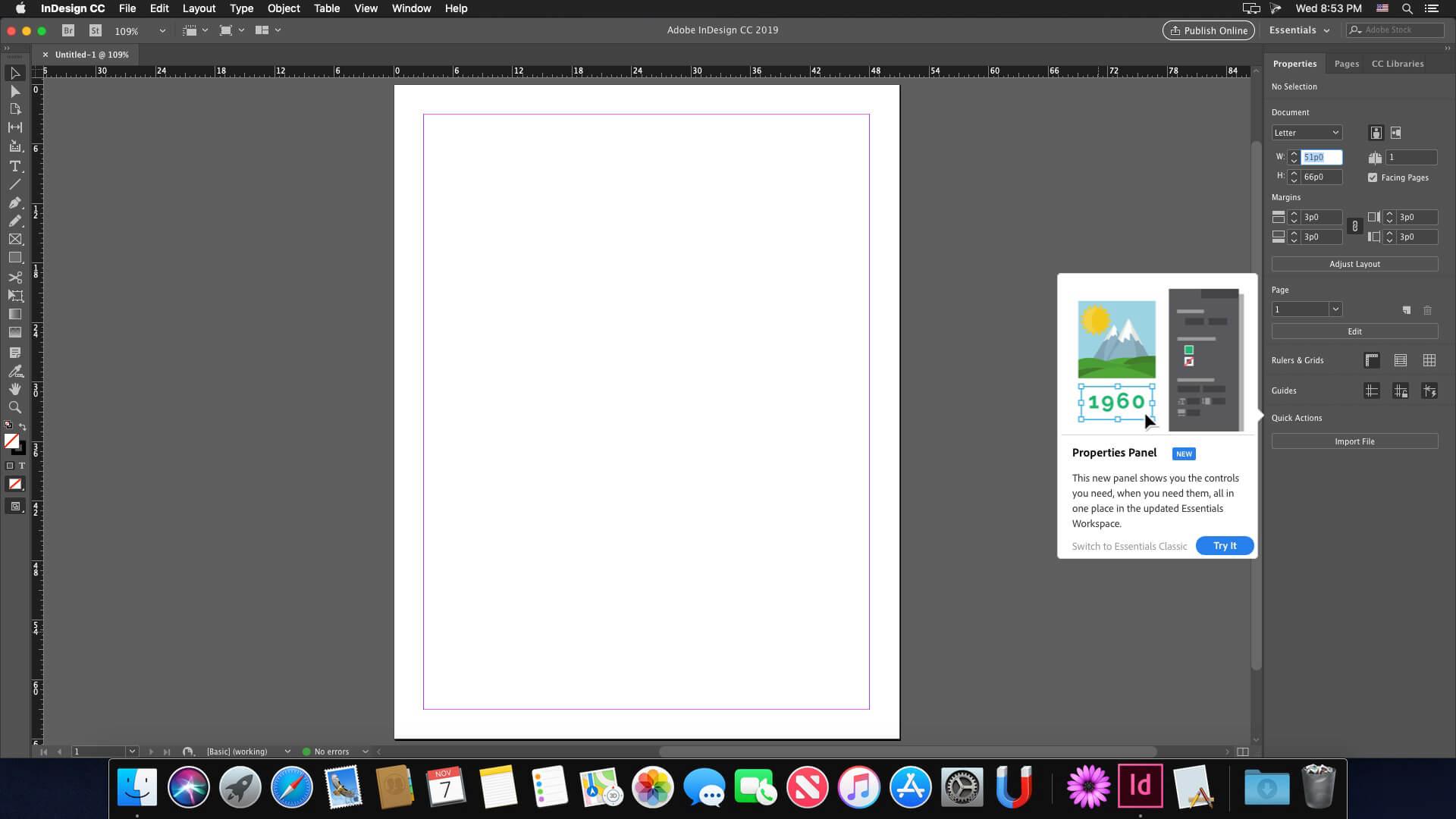 Adobe Indesign CC 2019 v14 0 3 download | macOS