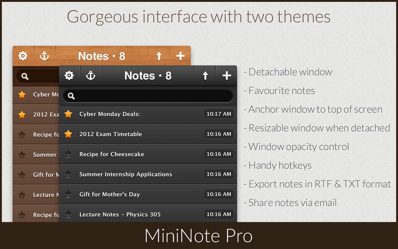 Mininote pro for windows