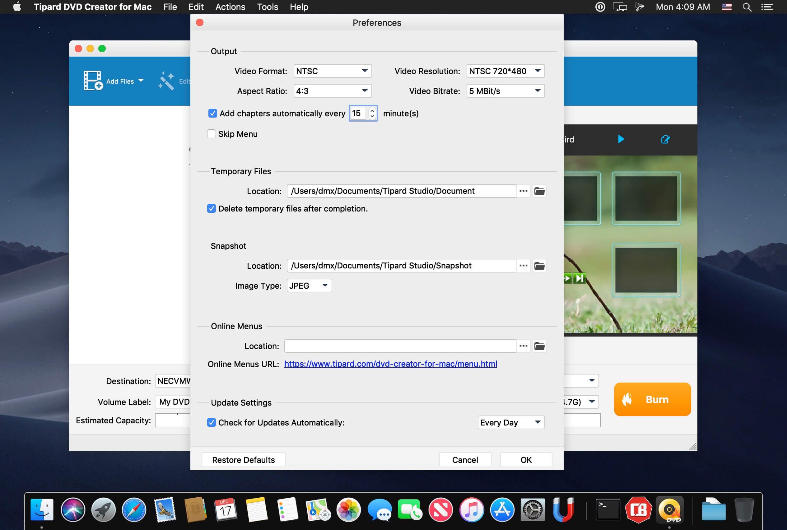 Tipard DVD Creator for Mac 3 2 10 download | macOS