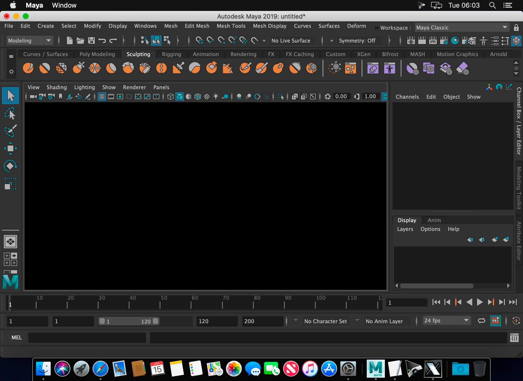 Autodesk Maya 2019 1 download   macOS