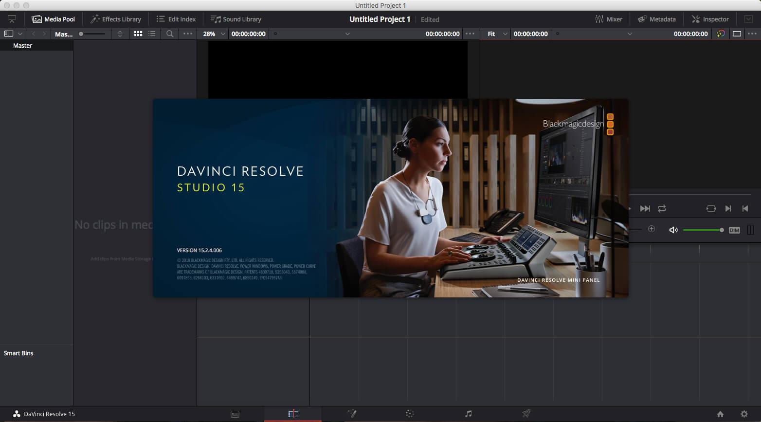 Davinci Resolve Studio 15 3 0 8 Download Macos